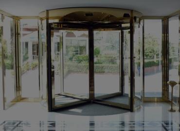 portas giratórias